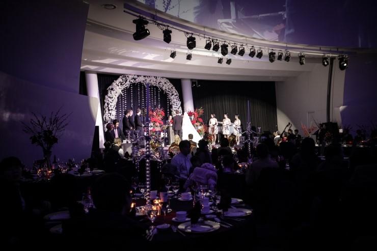 세빛섬의 크리스마스 웨딩_서초구웨딩홀