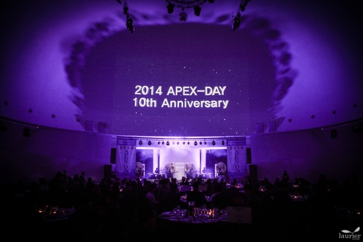 2014 APEX-DAY 10th Anniversary in FloatingIsland Convention
